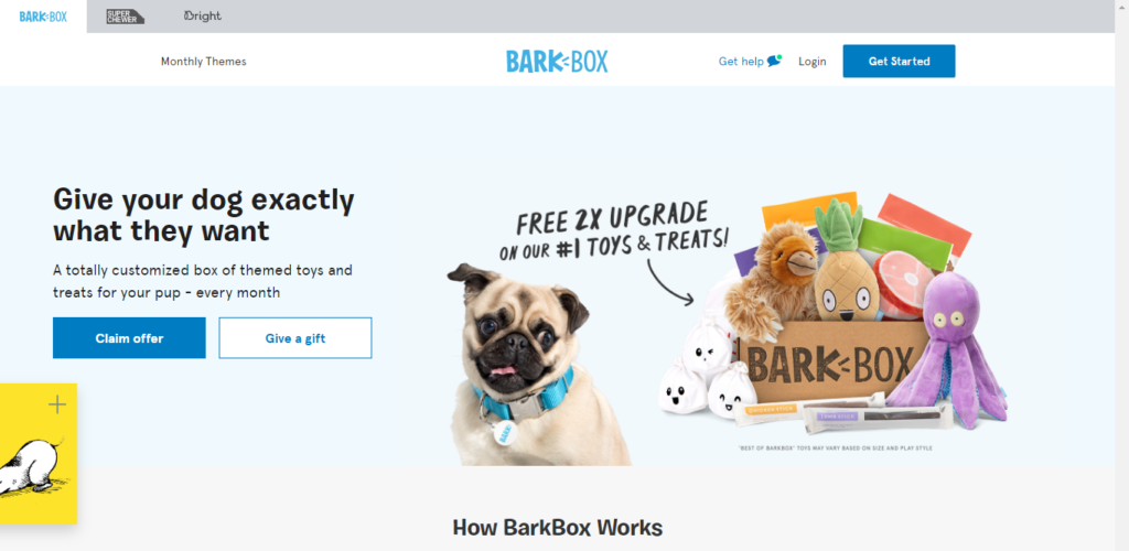 barkbox - How to start an Ecommerce Business 2021