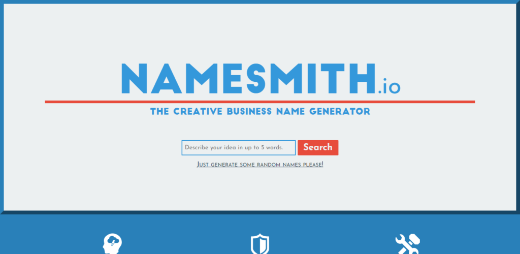 Namesmith - How to start an Ecomamerce Business 2021